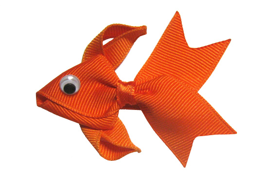 Goldfish Bow!-gold, fish, fishy