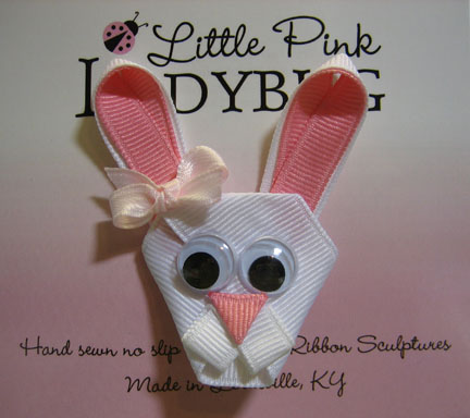 Bunny Bow-Bunny, rabbit, Easter, spring