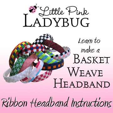 LPL Ebook - Basketweave Headband Instructions-headbands, basket, weave, woven, braided