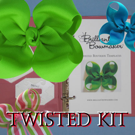 LPL Brilliant Bowmaker System - 7. LIMITED QUANTITIES of this!  Twisted Style Kit